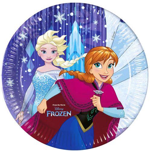 Frozen Snowflakes Karton Tabak (8 Adet), fiyatı