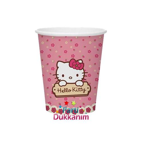 Hello Kitty Bardak (8 adet), fiyatı