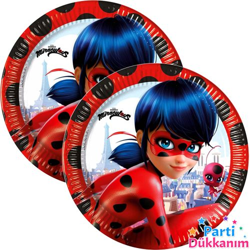 Miraculous Ladybug Tabak (8 Adet), fiyatı