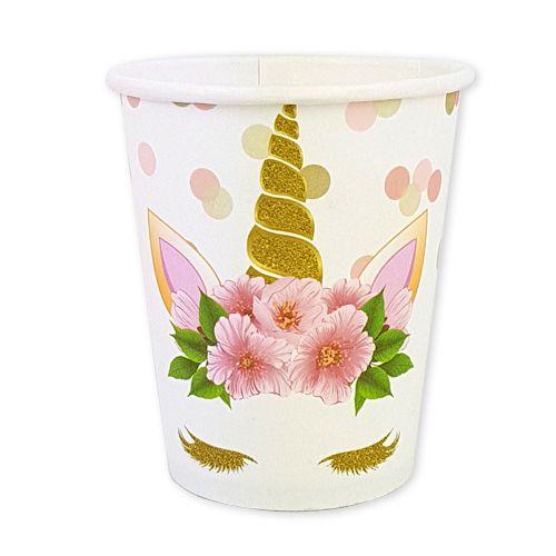 Unicorn Çiçekli Bardak (8 adet), fiyatı