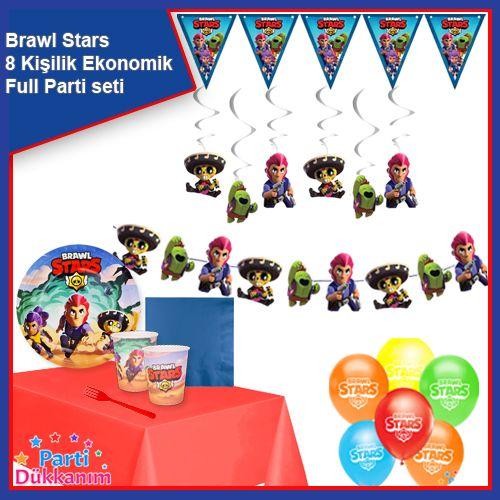 Brawl Stars 8 Kişilik Ekonomik Parti Seti, fiyatı