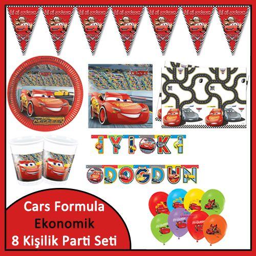 Cars 3 Ekonomik Süper Set (8 Kişilik), fiyatı
