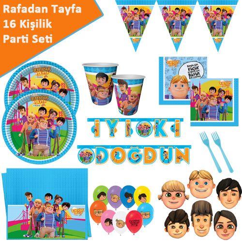 Rafadan Tayfa Parti Seti 16 Kişilik, fiyatı