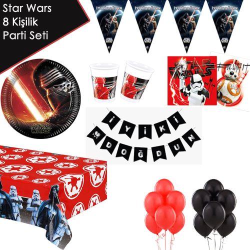 Star Wars Parti Seti 8 Kişilik, fiyatı