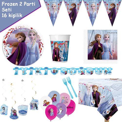 Frozen 2 Parti Seti 16 Kişilik, fiyatı