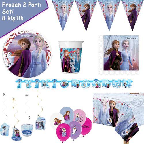 Frozen 2 Parti Seti 8 Kişilik, fiyatı