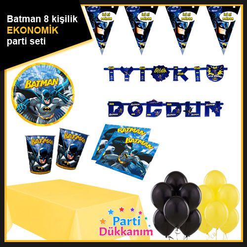 Batman 8 Kişilik Süper Parti Seti, fiyatı