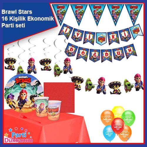 Brawl Stars 16 Kişilik Ekonomik Parti Seti, fiyatı