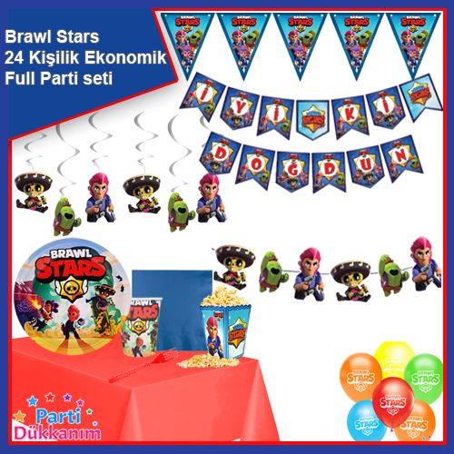 Brawl Stars 24 Kişilik Parti Seti, fiyatı
