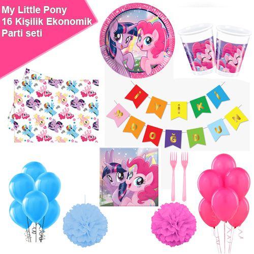 My Little Pony Ekonomik Parti Seti 16 Kişilik, fiyatı