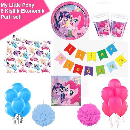 My Little Pony Ekonomik Parti Seti 8 Kişilik, fiyatı