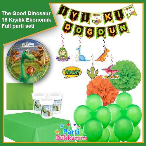 The Good Dinosaur Ekonomik Parti Seti 16 Kişilik, fiyatı