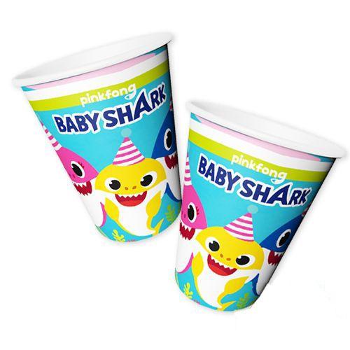 Baby Shark Bardak (8 adet), fiyatı