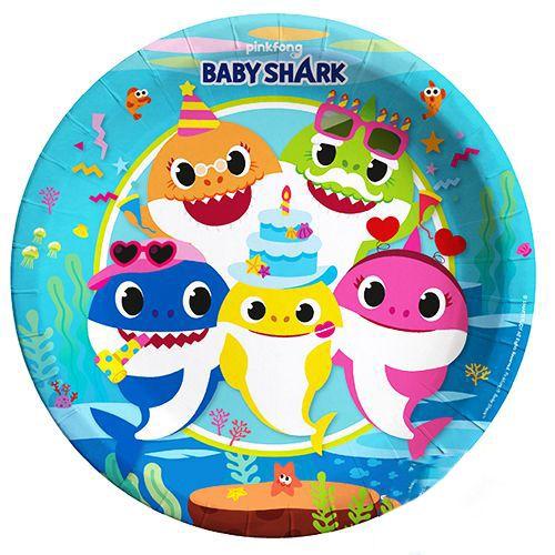Baby Shark Tabak (8 adet), fiyatı