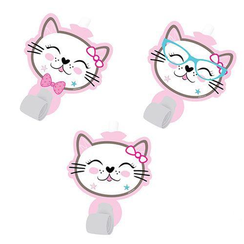 Miss Cat Kedi Parti Düdüğü 6 Adet, fiyatı