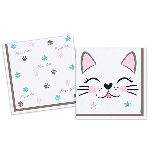Miss Cat Kedi Peçete 16 adet, fiyatı