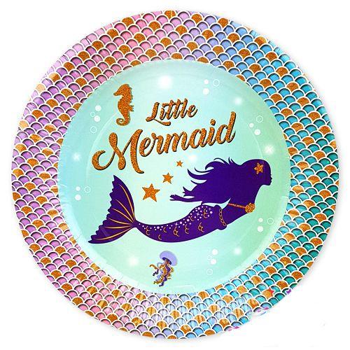 Deniz Kızı Temalı Tabak (8 adet), fiyatı