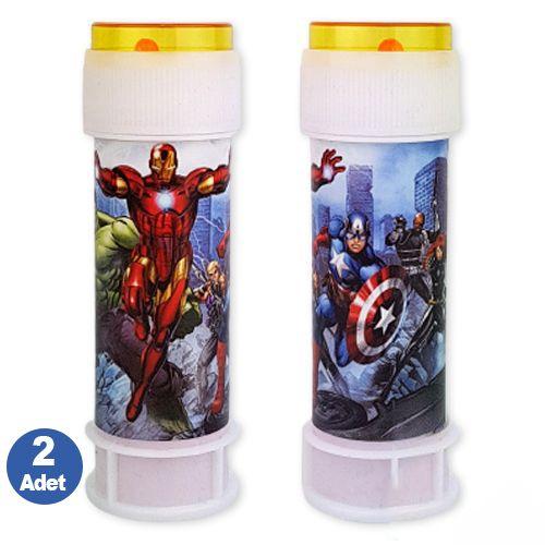 Avengers Yenilmezler Köpük Baloncuk 2 adet, fiyatı