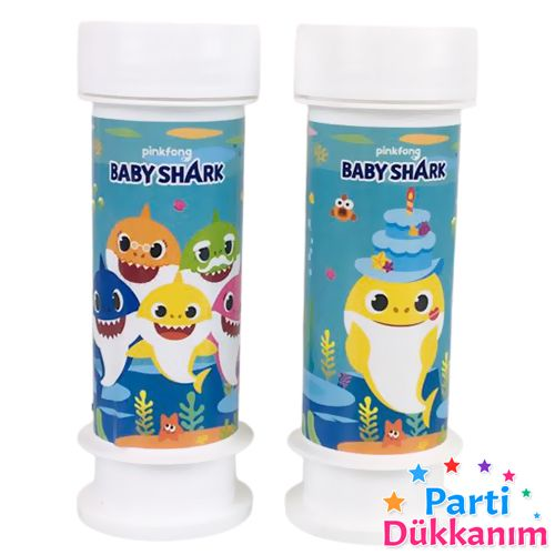 Baby Shark Köpük Baloncuk (2 Adet), fiyatı