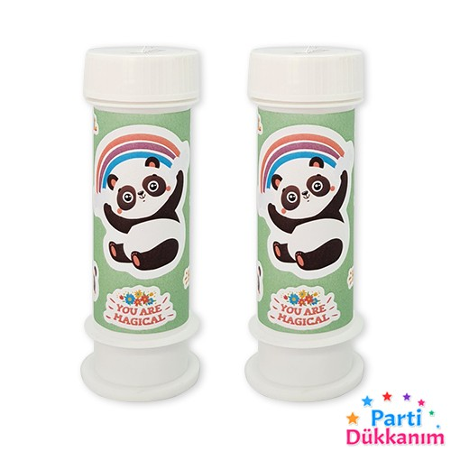 Panda Temalı Hediyelik Köpük Baloncuk 2 adet, fiyatı