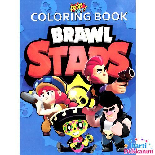 Brawl Stars Boyama Kitabı Stickerlı 16 Sayfa, fiyatı