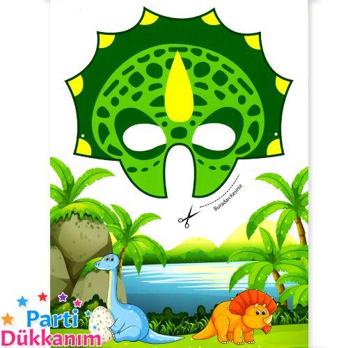 Dinozor Boyama Kitabi Stickerli 16 Sayfa