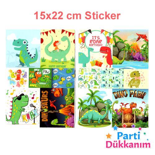 Dinozor Boyama Kitabı Stickerlı (16 Sayfa), fiyatı