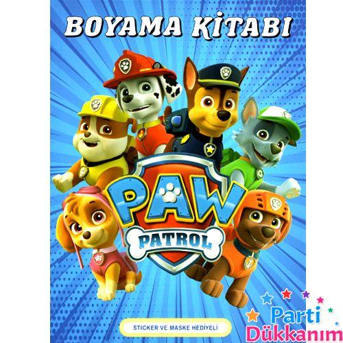 Paw Patrol Boyama Kitabı Stickerlı (16 Sayfa), fiyatı