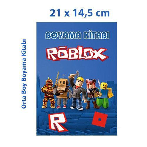 Roblox Boyama Kitabı 16 Sayfa 21x14,5 cm, fiyatı