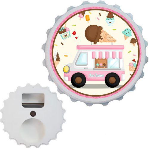 Dondurma Temalı Açacak Magnet 7 cm, fiyatı