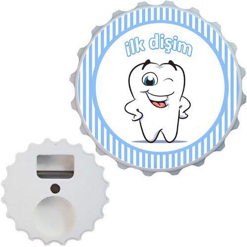 Diş Buğdayı Mavi Açacak Magnet 7cm, fiyatı