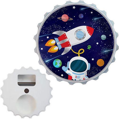 Uzay Temalı Açacak Magnet 7cm, fiyatı