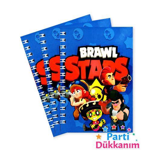Brawl Stars Not Defteri 4 Ad (9x13 cm) 50s, fiyatı