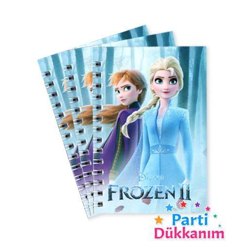 Frozen 2 Not Defteri 3 Ad (9x13 cm) 50s, fiyatı