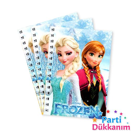 Frozen Not Defteri 4 Ad (9x13 cm) 50s, fiyatı