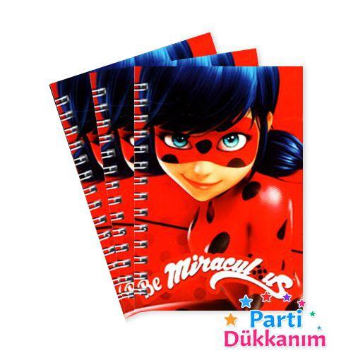 Miraculous Ladybug Not Defteri 4 Ad (9x13 cm) 50s, fiyatı