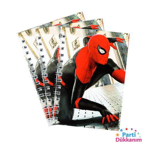 Spiderman Not Defteri 4 Ad (9x13 cm) 50s, fiyatı
