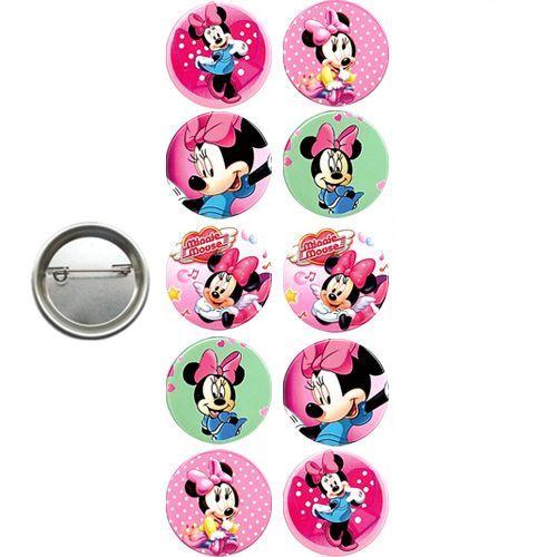 Mickey Minnie Mouse Parti Rozeti (10 adet), fiyatı