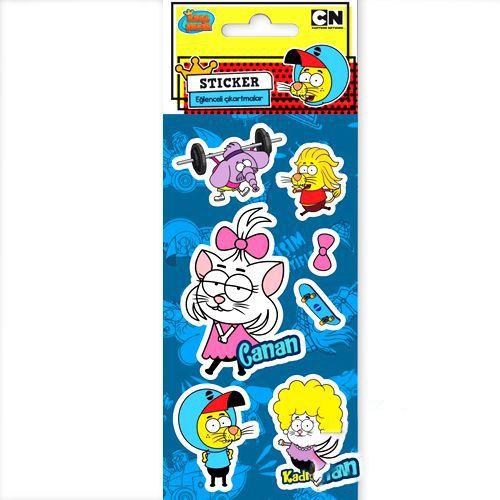 Kral Şakir Metalik Sticker (7x15 cm), fiyatı