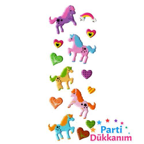 Unicorn Sticker 7x17 cm, fiyatı