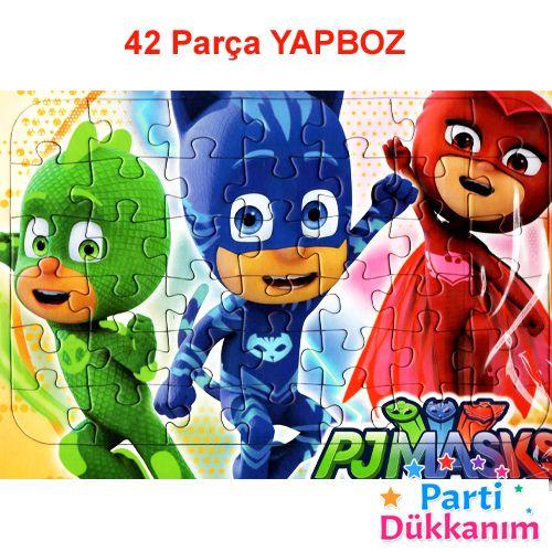 Pijamaskeliler Hediyelik Yapboz (31x22cm), fiyatı