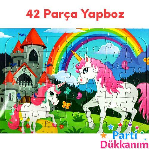 Unicorn Hediyelik Yapboz (31x22cm), fiyatı