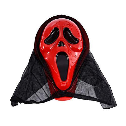 Çığlık Pelerinli Korku Maske Kırmızı, fiyatı