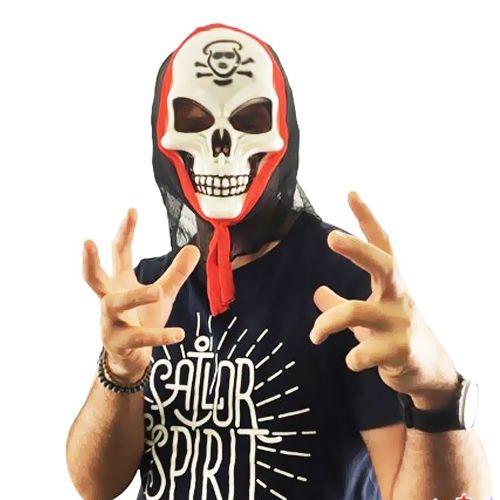 Pelerinli Korkunç İskelet Maskesi, fiyatı