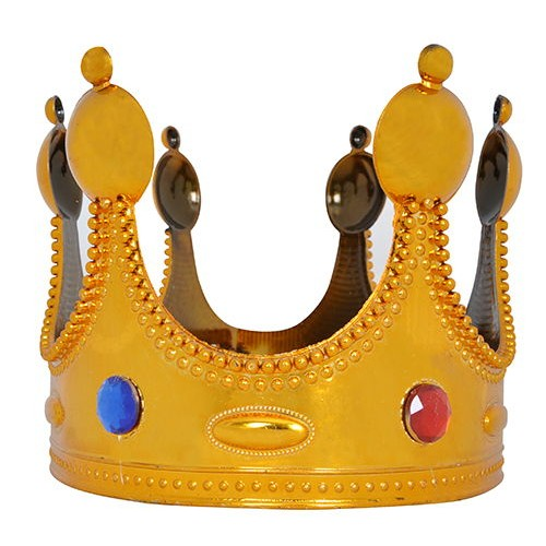 Kral Tacı Gold Renkli (Büyük), fiyatı