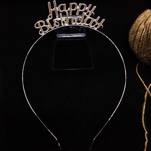 Happy Birthday Metal Taç Gümüş, fiyatı