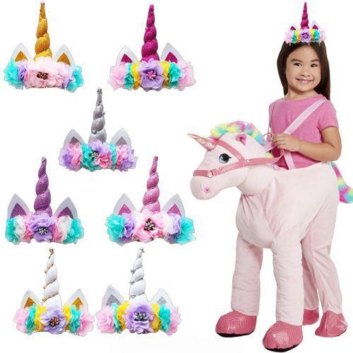 Unicorn Bandana Taç 7 Renk, fiyatı