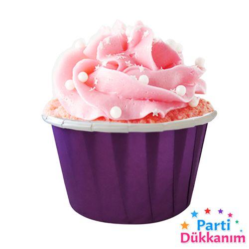 Mor Muffin Kek Kapsülü (25 adet), fiyatı