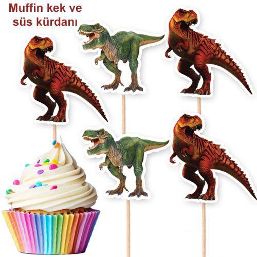 Jurassic Dinozor Şekilli Kürdan 10 Adet, fiyatı
