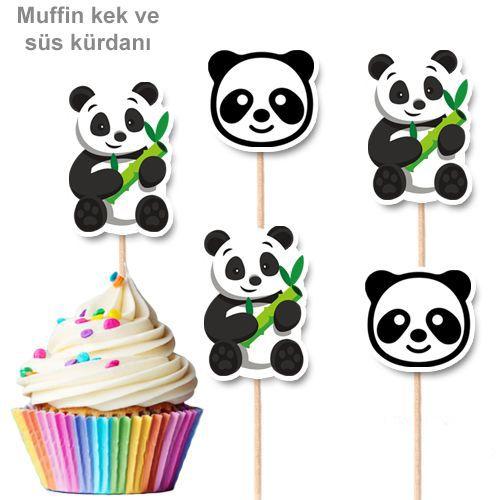 Panda Şekilli Kürdan 10 Adet, fiyatı